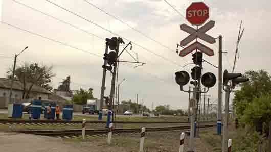 Что автомобилисты прозвали «переездным светофором»