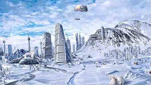 Колдовской жест из рассказа «Город Антарктида» фантаста Леонида Каганова