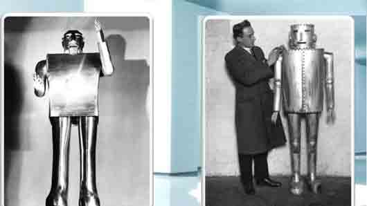 Какой американский инженер создал первого действующего робота