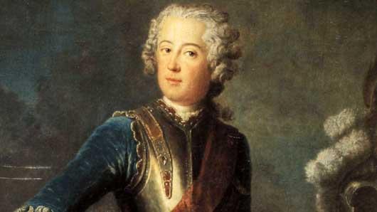 Прусского короля Фридриха Вильгельма за глаза прозвали «... на троне»