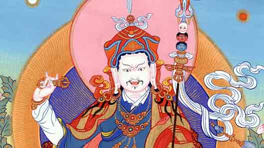 Духовный лидер в тибетском буддизме