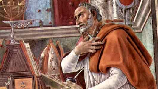 Какая страна ныне расположена на том месте, где родился блаженный Августин