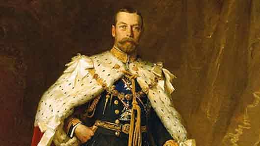 Любимая ткань английского короля Георга V