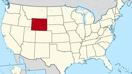 Штат с самой низкой после Аляски плотностью населения