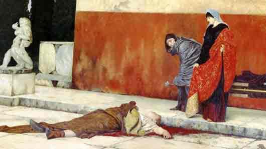 Что заставило императора Нерона покончить с собой