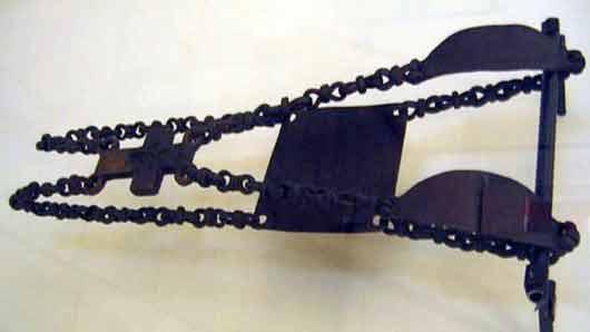 Железные цепи религиозного фанатика