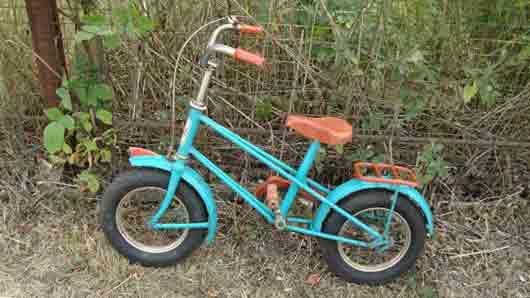 Велосипед самых юных гонщиков