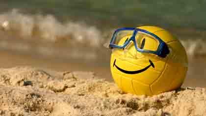Что в пляжном волейболе не отличается от классического зального