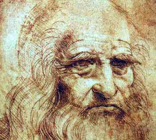 В каком итальянском городе хранят единственный известный автопортрет Леонардо да Винчи