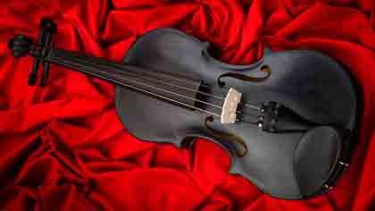 """Камень с чего взял Ларс Виденфалк для изготовления своей скрипки """"Черный дрозд"""""""
