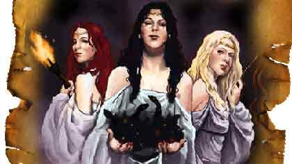 Кем были фурии, персонажи римской мифологии