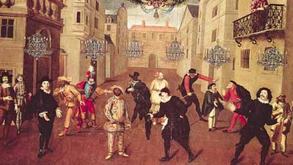 Кто из традиционных персонажей комедии дель арте обходился на сцене без маски