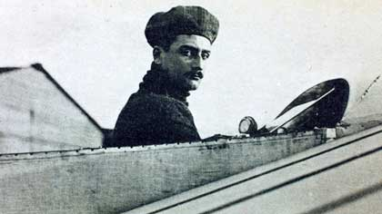 Каким видом спорта серьезно увлекался французский летчик Ролан Гаррос