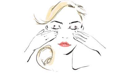 Пальпация лица в салоне красоты (6 букв)