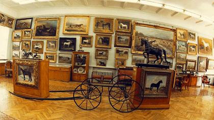 Коллекция в музее (10 букв)