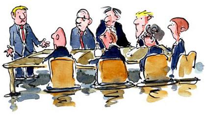 Короткое рабочее совещание (10 букв)