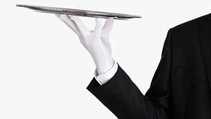 Обувь официантов в бистро (6 букв)