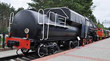Прицеп паровоза с запасом топлива (6 букв)