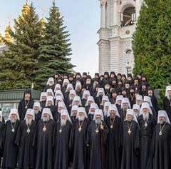 «Конгресс» епископов (5 букв)