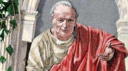Древнеримский поэт (7 букв)