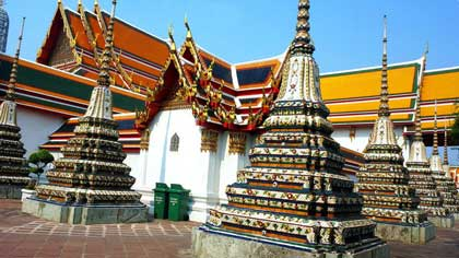 Столица с храмом лежащего Будды (7 букв)