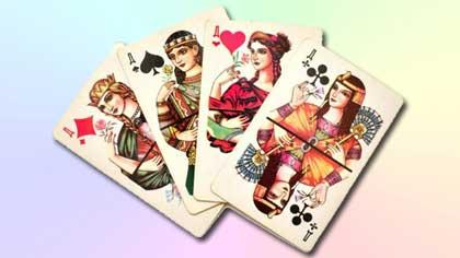 Дама пик в картах (7 букв)